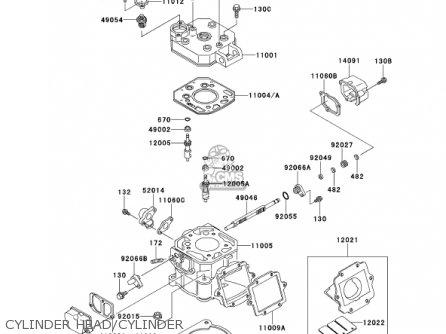 Kawasaki Kmx 125 Wiring Diagram / Kawasaki F7 Kill Switch