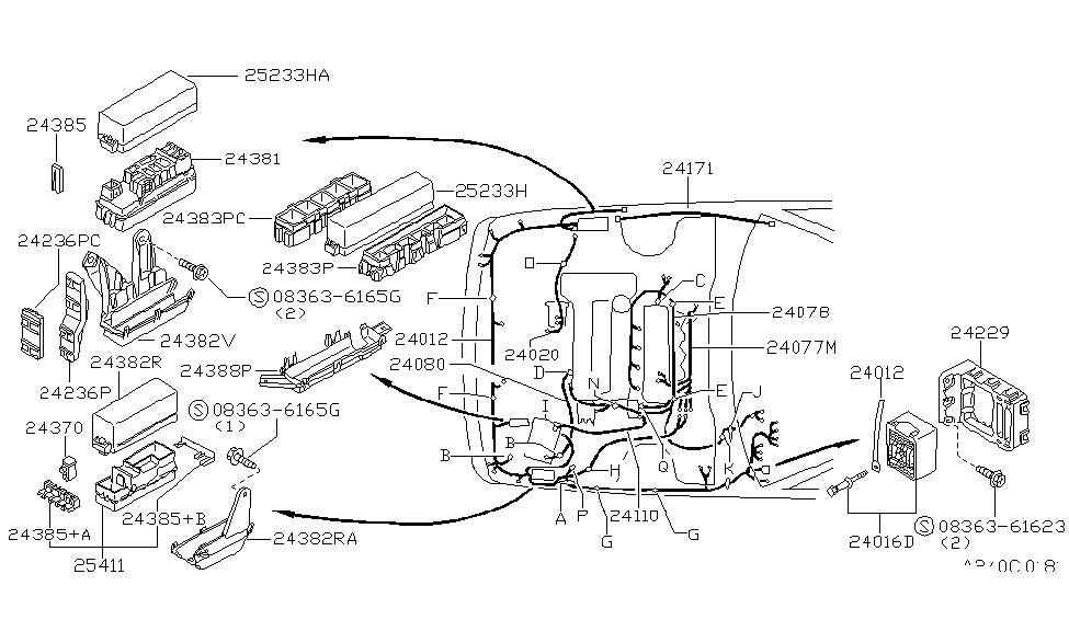 Nissan Sentra Gxe 2001 Wiring Diagram : Diagram Nissan B15