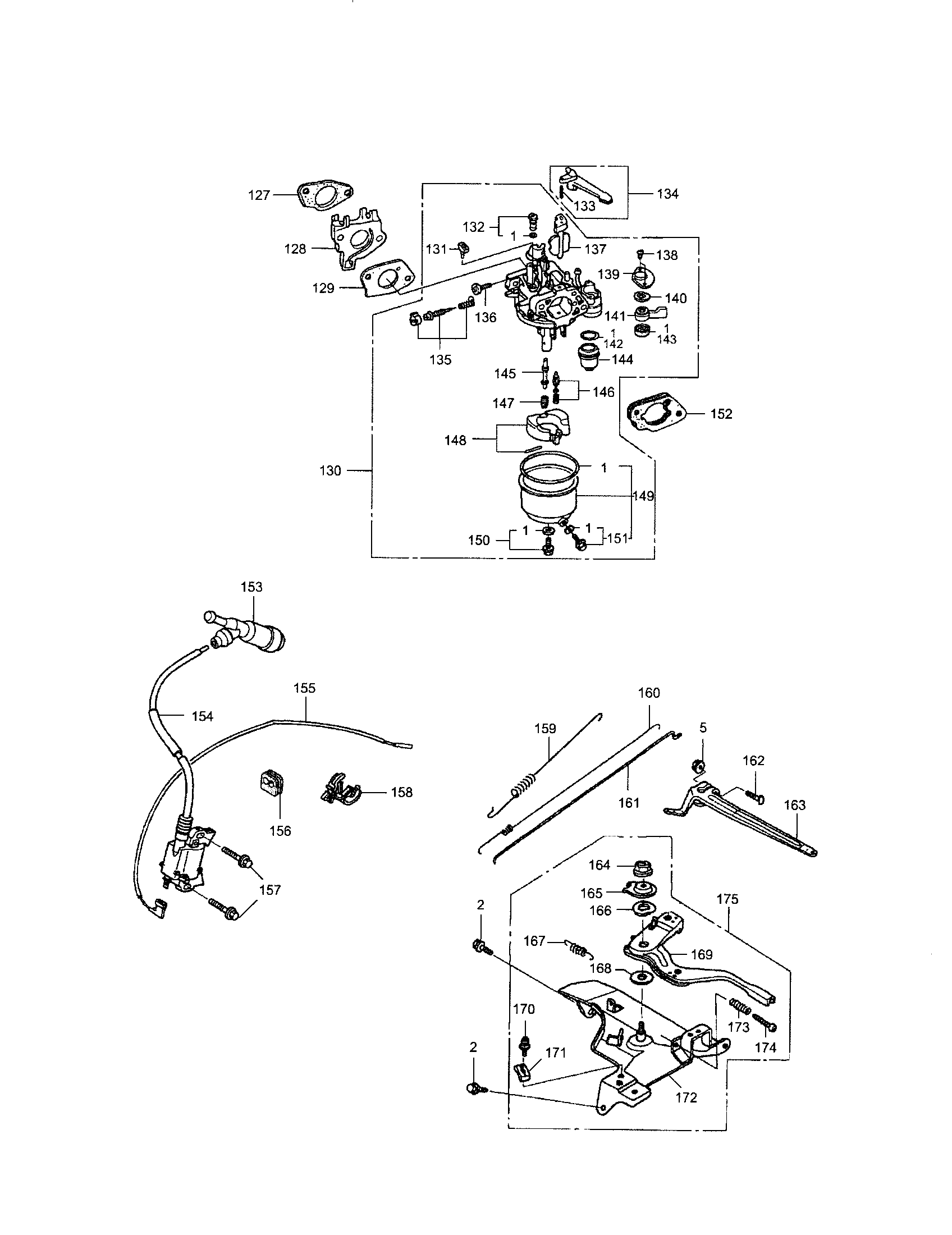 [BL_2909] Honda Gx390 Engine Parts With Diagram Schematic