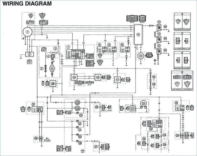 2013 yamaha atv wiring diagrams  description wiring