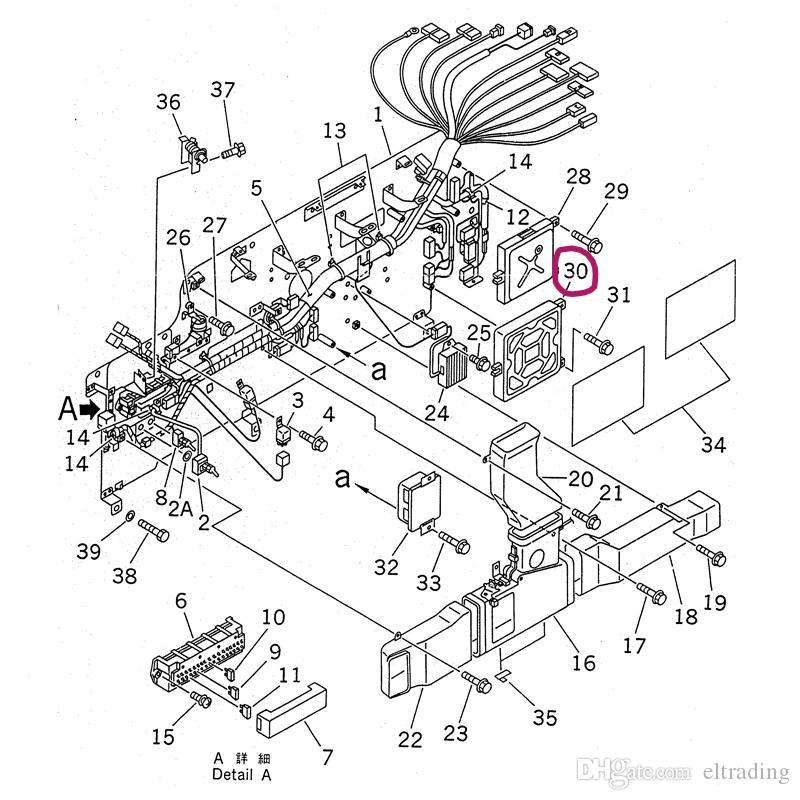 [YA_7274] Komatsu Wiring Schematics Wiring Diagram Photos