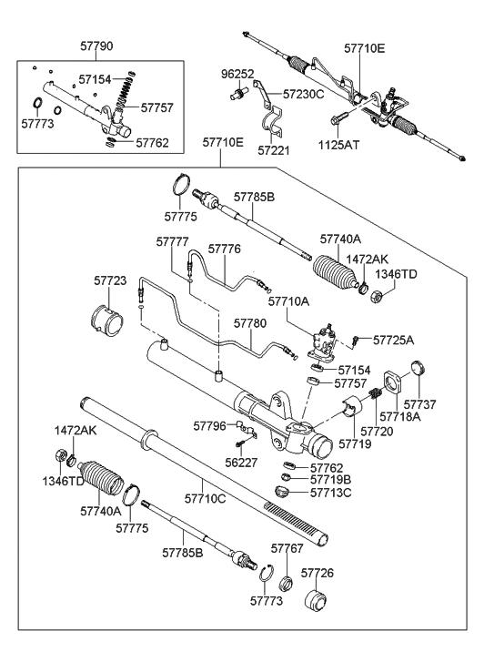 [WX_7142] Power Steering Gear Box Diagram Schematic Wiring