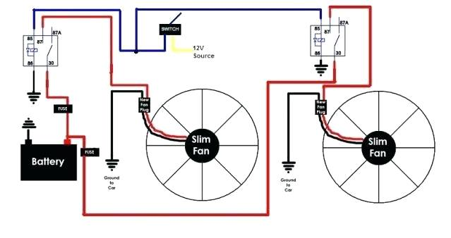 dx0642 diagram together with electric fan relay wiring