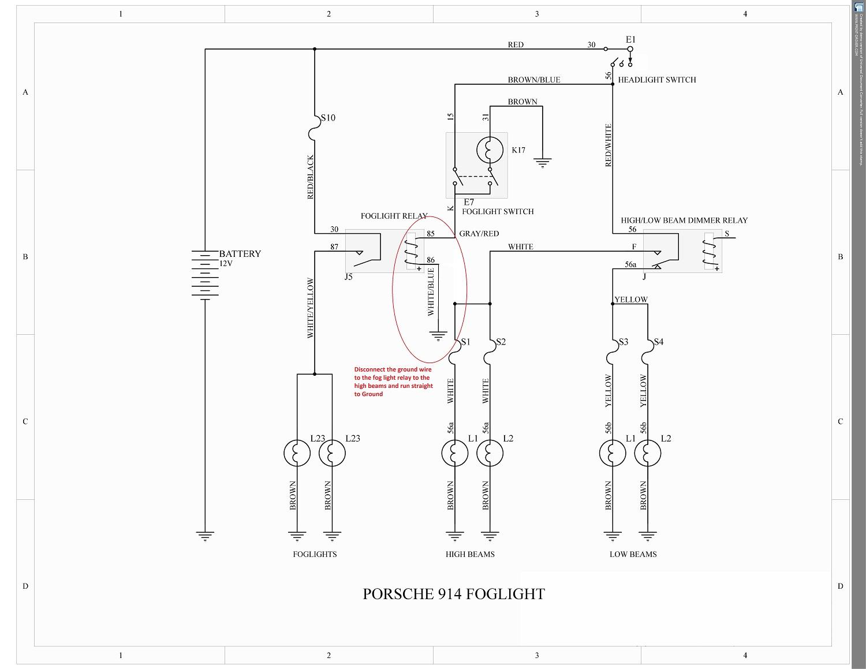 Wiring Diagram Gallery: 4 Wire Fog Light Switch Wiring Diagram