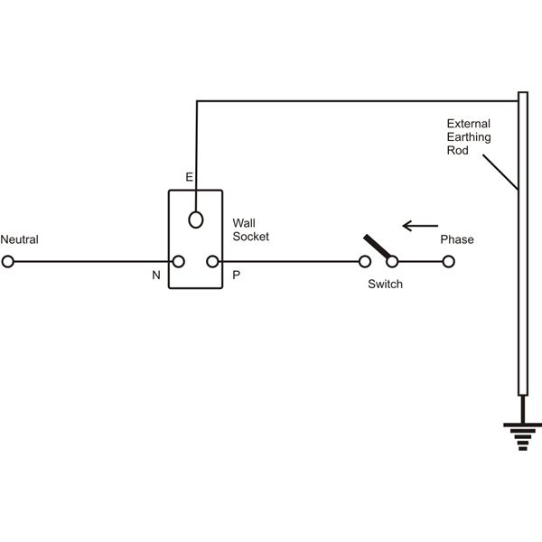 [WR_6080] Electrical Outlet Basic Electrical Wiring Home