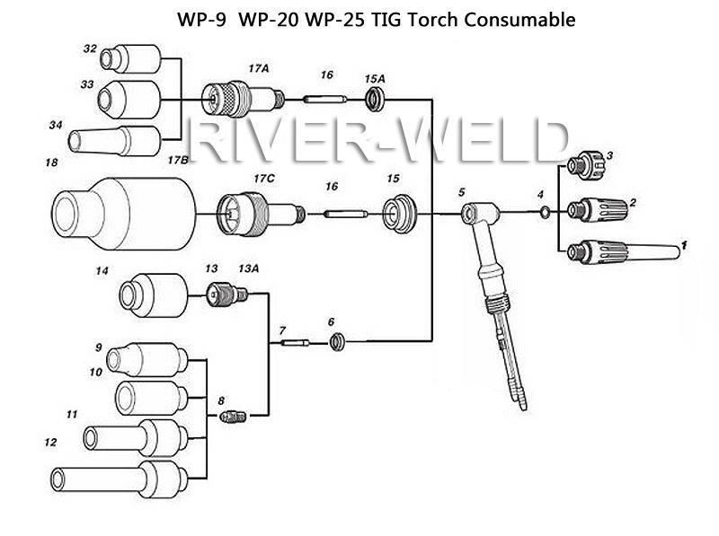 [BH_3927] Tig Welding Torch Diagram Free Diagram