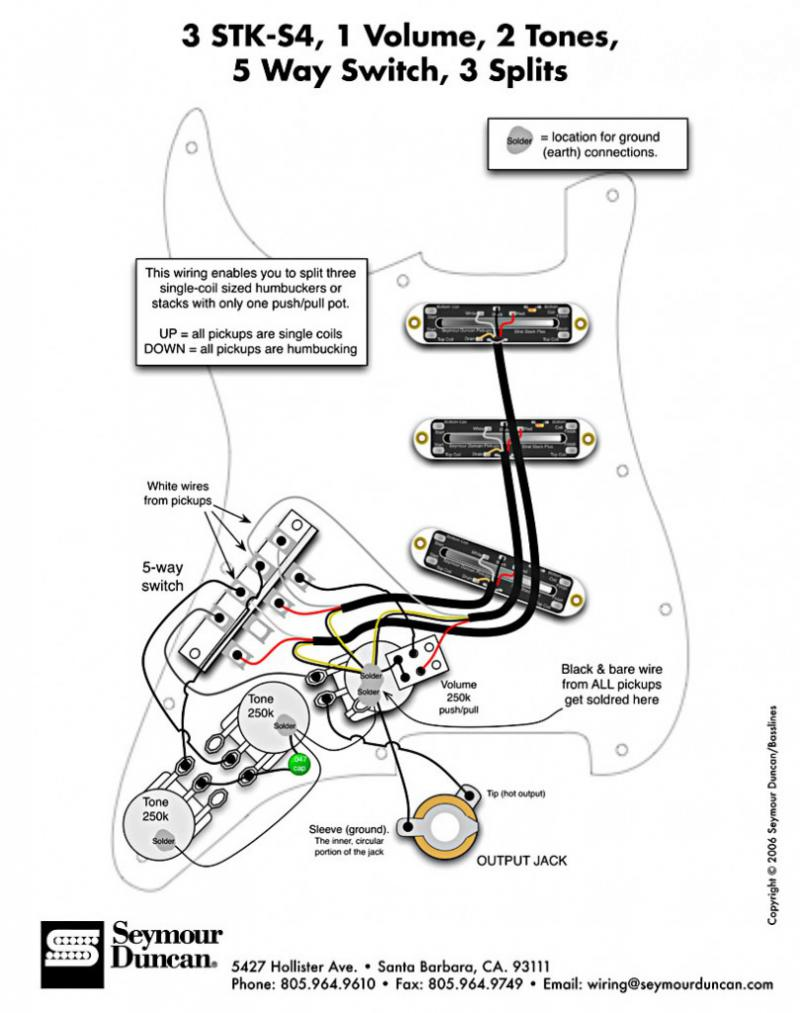 Les Paul Wiring Diagram Seymour Duncan For Your Needs