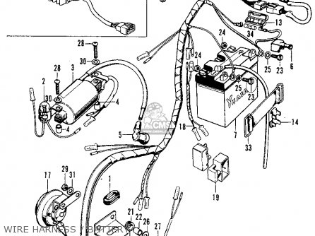 [ES_9984] Honda Cb125S Wiring Diagram Download Diagram