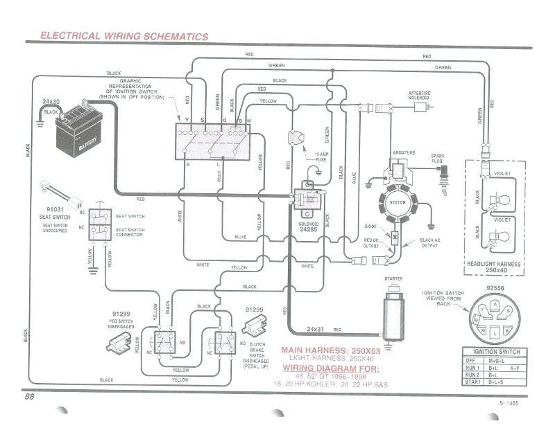 [AB_7017] Briggs Stratton Engine Schematics Wiring Diagram