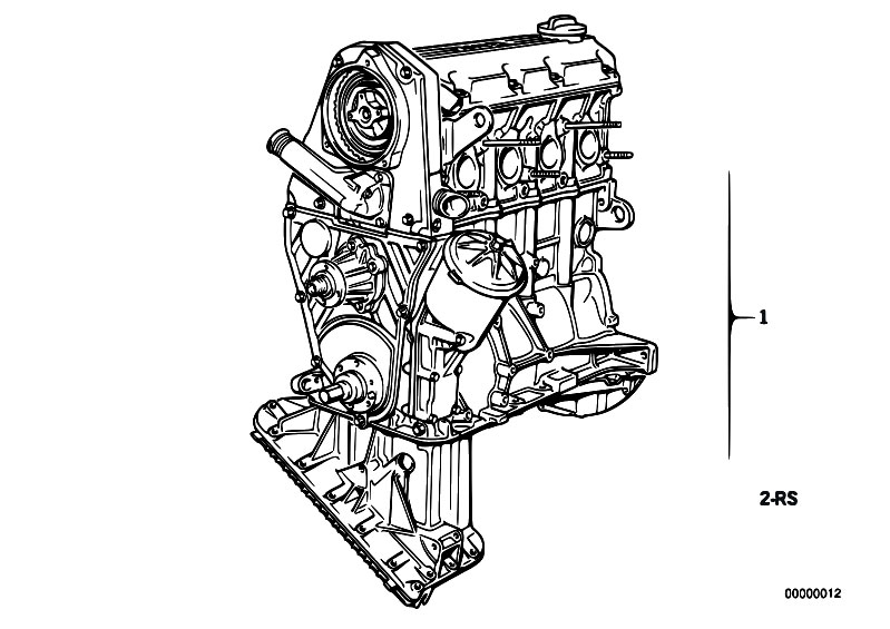 Bmw 325I Engine Diagram : 2001 Bmw E46 Engine Diagram