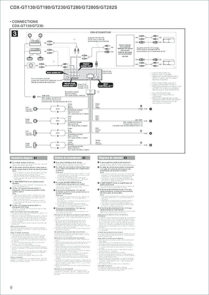 xe4808 cdx gt360mp wiring diagram schematic wiring