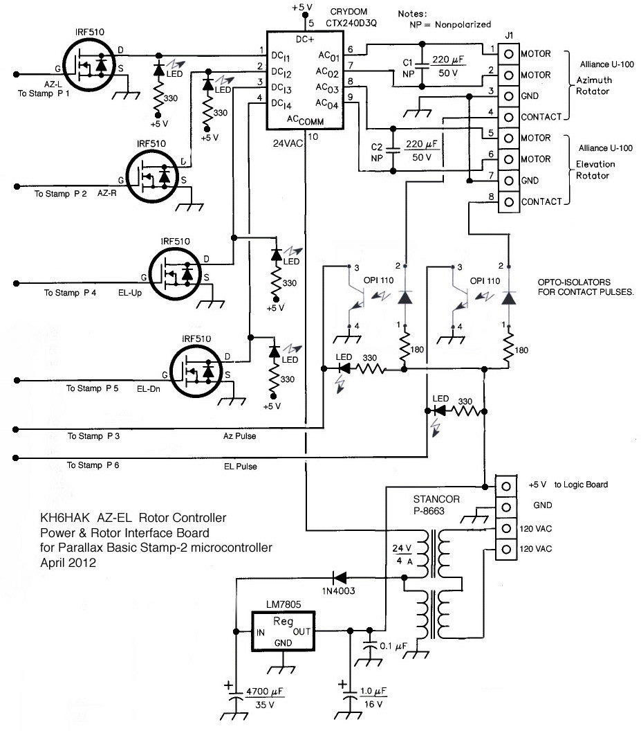 [DF_6104] Antenna Rotor Wiring Diagram Schematic Wiring