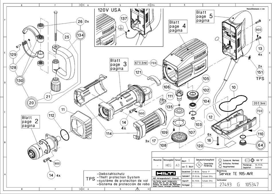 [WK_2558] Hilti Te72 Wiring Diagram Schematic Wiring
