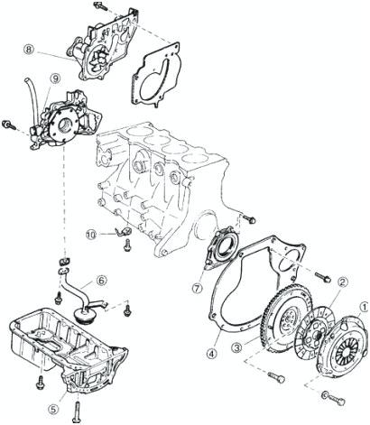 [RK_5813] 2000 Kia Sephia Engine Diagram Schematic Wiring
