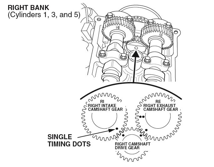 [WV_5458] 2000 Isuzu Rodeo 3 2 Timing Marks Dohc Schematic