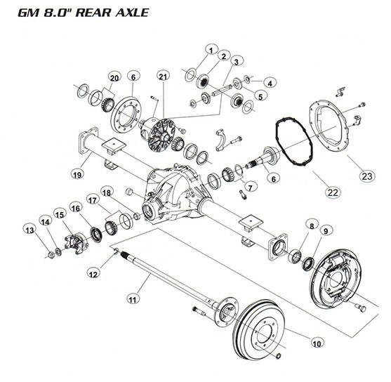 [EH_3431] Trailblazer Differential Diagram Schematic Wiring