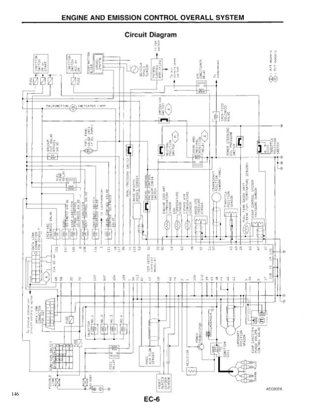 Ka24E Engine Harness Diagram / Ck 7321 Ka24e Engine