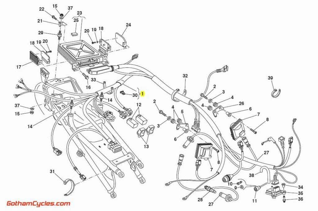 [WD_6570] Ducati 1199 Panigale Wiring Diagram Schematic Wiring