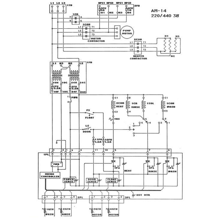 [FX_9604] Hobart Wiring Diagram Schematic Wiring