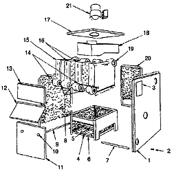 [VT_3015] Boiler Controls Piping Diagram And Parts List