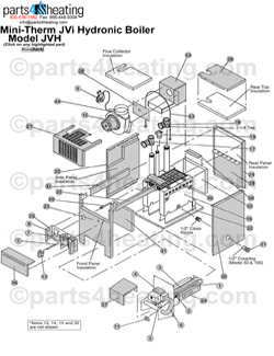 [VT_3015] Boiler Controls Piping Diagram And Parts List