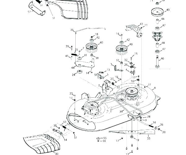 [SO_8879] Troy Bilt Pony Mower Deck Belt Diagram Also With
