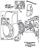 [YN_4703] Briggs And Stratton 5Hp Carburetor Diagram