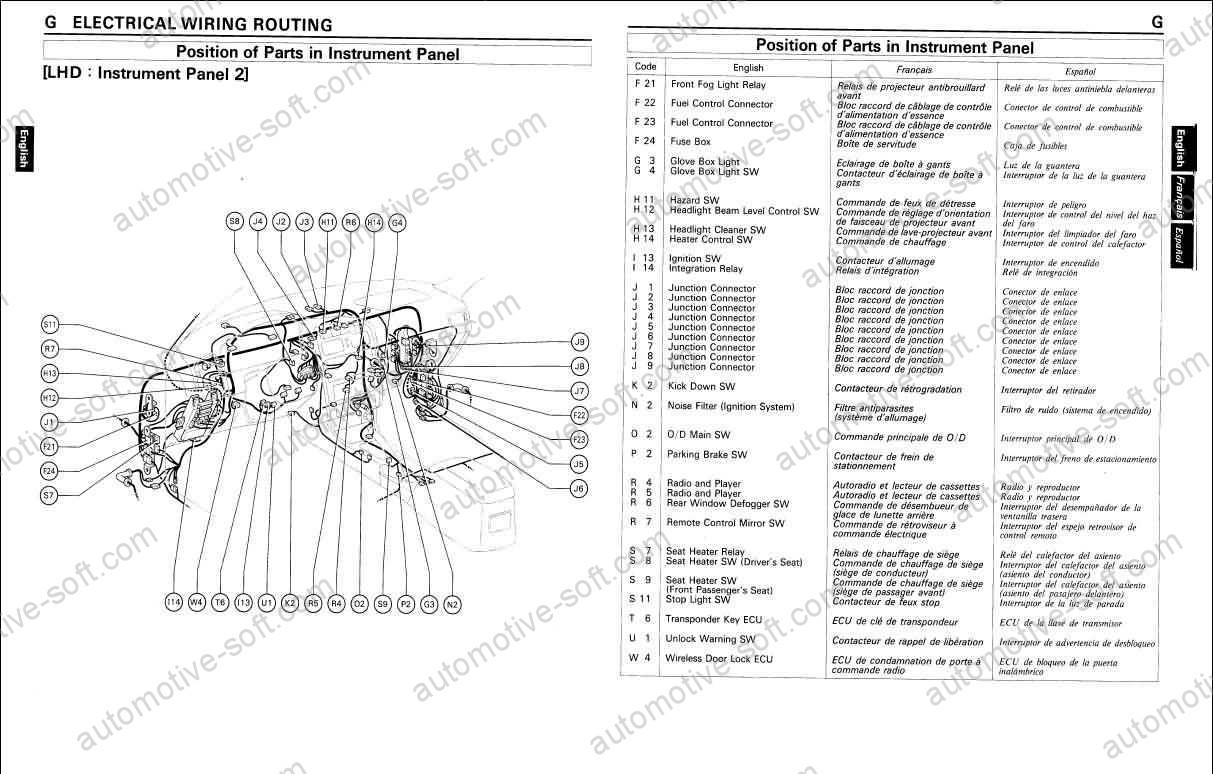 [OH_6370] Toyota Land Cruiser Car Wiring Diagram Schematic