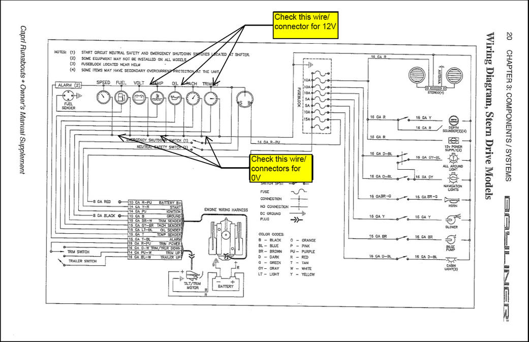 [WC_6552] 1999 Bayliner Wiring Diagram Free Diagram