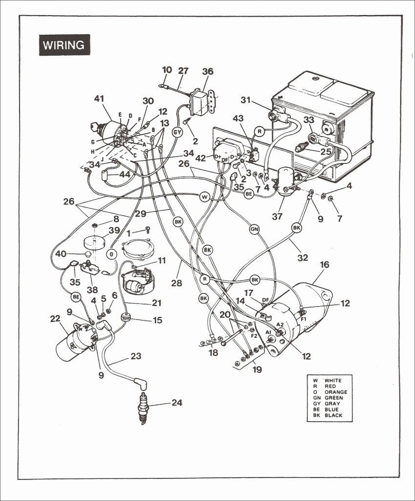 [ES_0788] Yamaha Golf Cart Wiring Diagram 2Gf Wiring Diagram