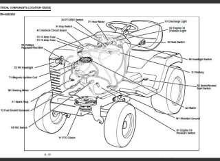 John Deere 1050 Wiring Diagram : Diagram Lt 1050 Wiring
