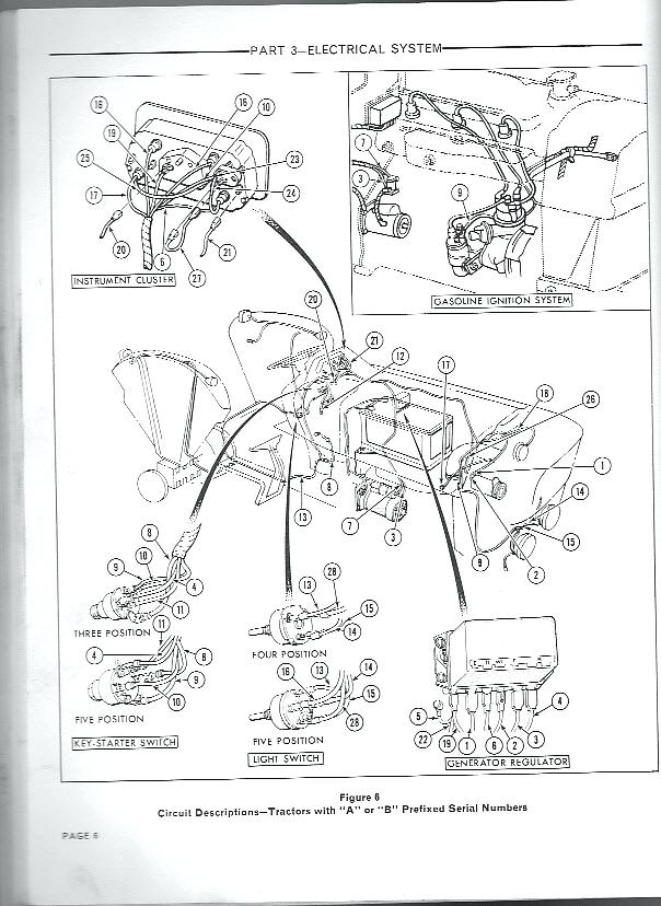 [MW_7561] Ford Tractor 6610 Alternator Wiring Diagram Free