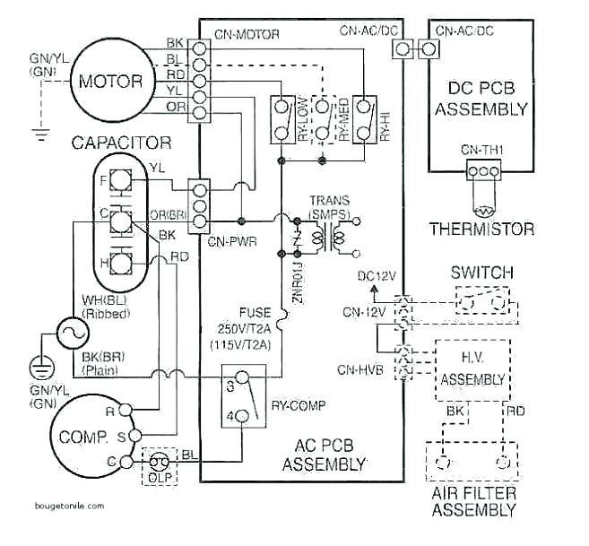 Intertherm Thermostat Wiring Diagram / 7 Wire Thermostat