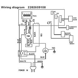 [LD_6002] Dehumidifier Wiring Schematic Schematic Wiring