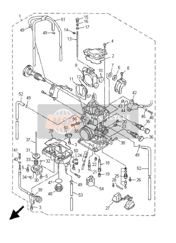 Yz426F Wiring Diagram : Diagram Tomar Light Bar Wiring