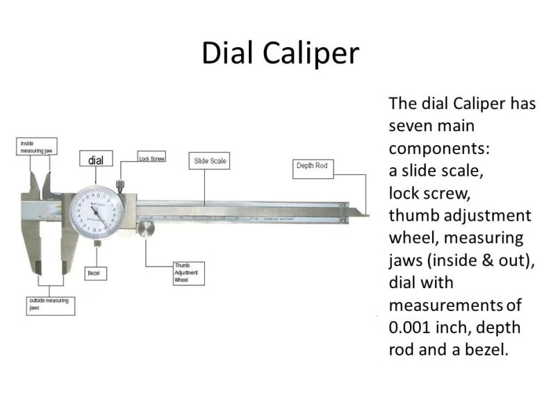 Mitutoyo Dial Caliper Parts