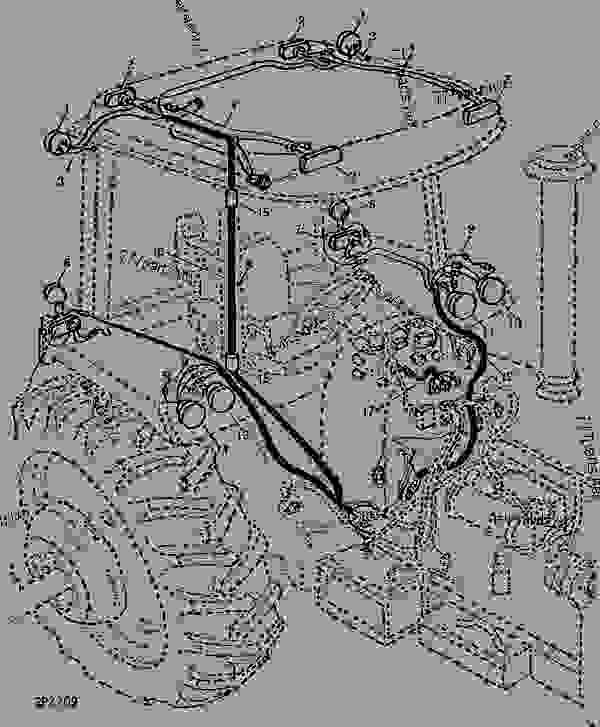 [CL_2290] John Deere 4040 Wiring Harness Schematic Wiring