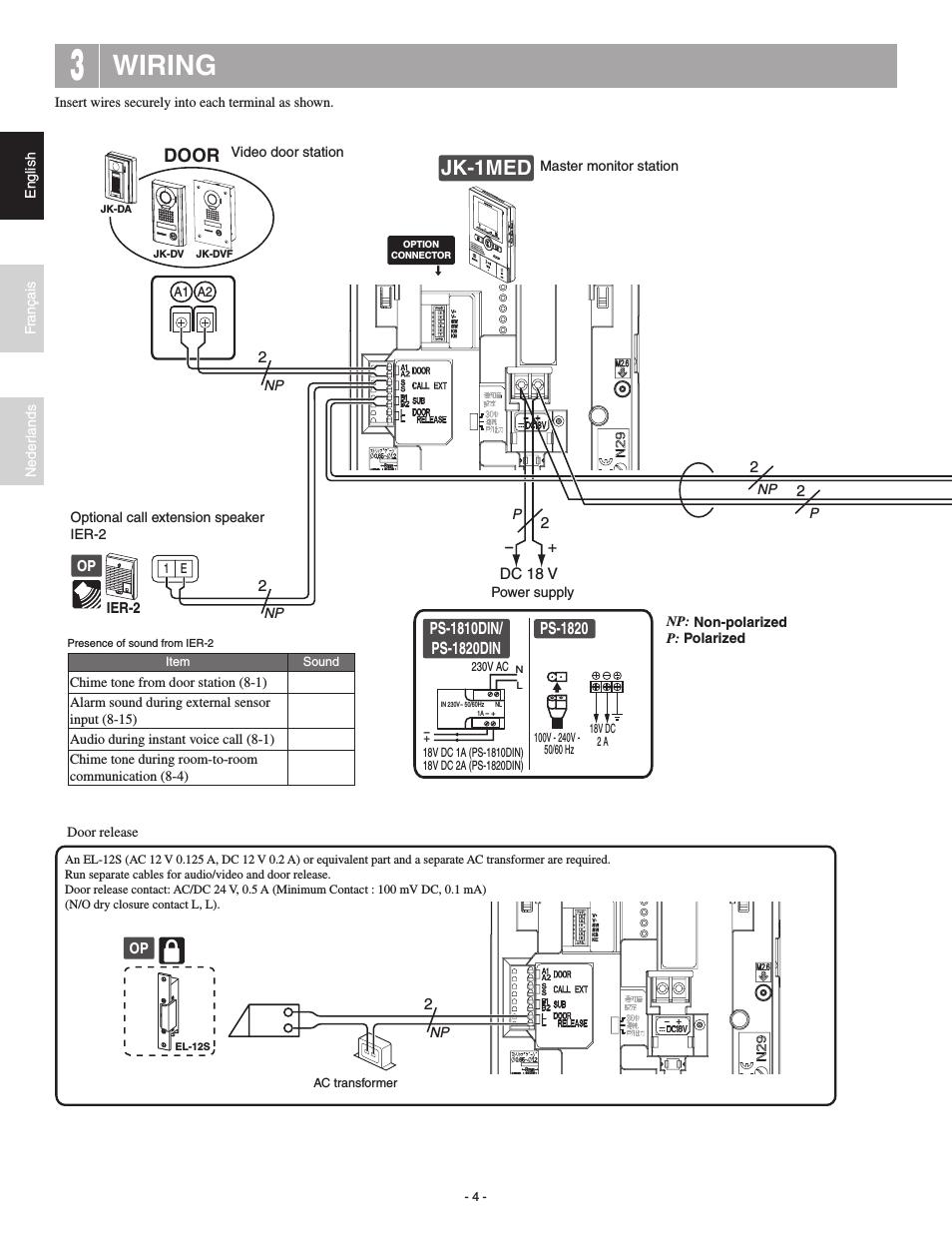 Aiphone Ix Mv Wiring Diagram / Mg 7980 Wiring Diagram