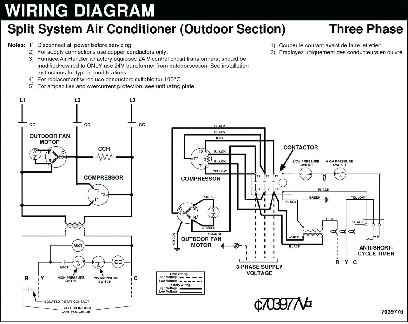 Copeland 3 Phase Compressor Wiring Diagram