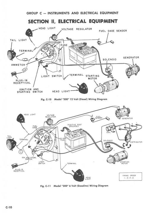 [MM_0498] Tractor Farmall C Wiring Diagram Gasoline Wiring