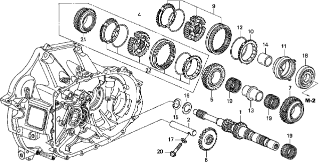 [DG_4246] Honda Accord Transmission Diagram Schematic Wiring