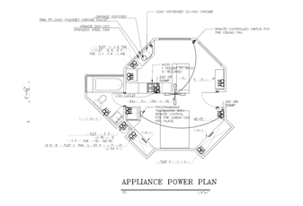 [KZ_5200] Electrical Plan Of Single Family Dwelling