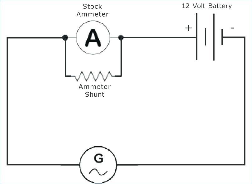 [ZS_5359] 12 Volt Amp Gauge Wiring Diagram Free Diagram