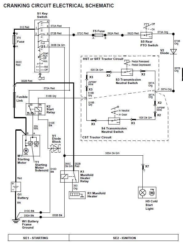 [GH_6507] John Deere 4100 Electrical Diagram Schematic Wiring