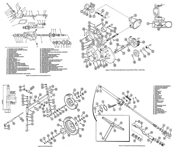[YC_9270] Power King 1614 Tractor Wiring Diagram Schematic