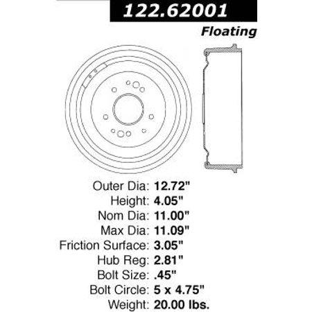 [HW_4493] Rear Brake Shoe Diagram Chevelle Tech Schematic