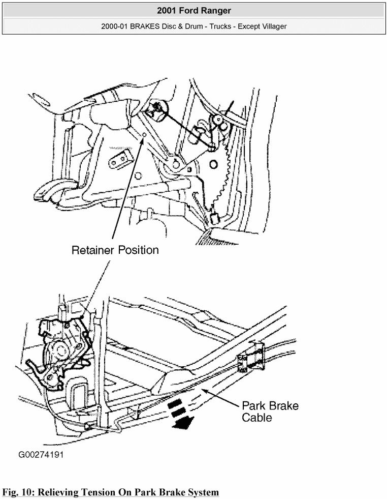 [LT_5830] Ford Ranger Xlt 40 Rear Drum Brakes Need Diagram