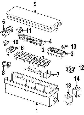 [LM_0411] Lr3 Fuse Box Schematic Wiring