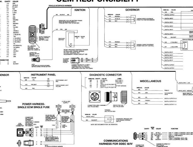 diesel detroit 60 ecm wiring diagram  ford f 350 wiring