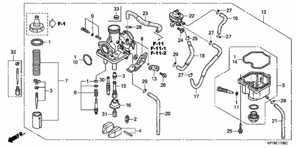 [DM_6901] Honda Crf150F Carburetor Diagram Free Diagram